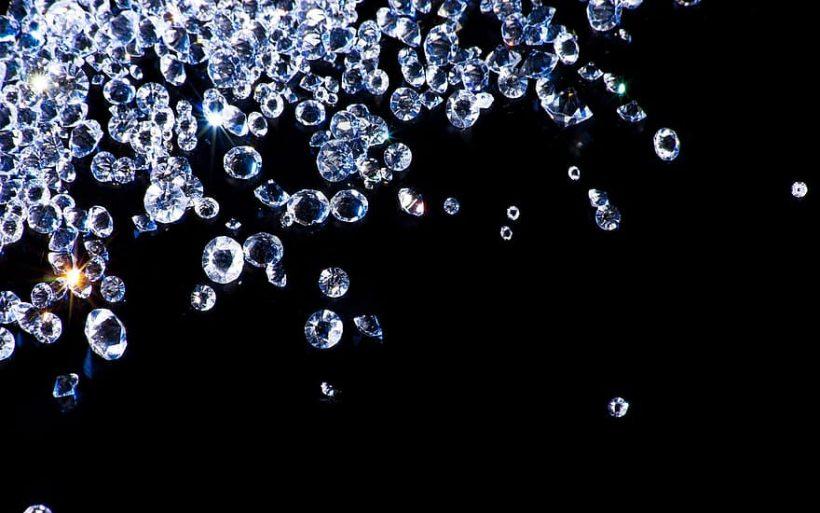 Solitaire en diamant